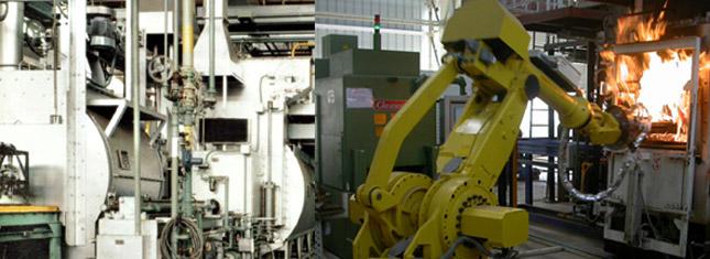 Horno Carburizador de Gas Continuo - Horno de Gas